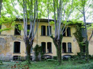 Francesco Galeotti La facciata della fabbrica