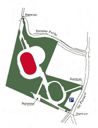 Mappa del Parco Museo di Seano