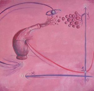 Brocca equazionataschizza uva galattica