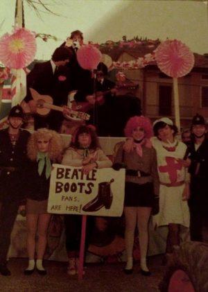 Carnevale a Seano negli anni 70