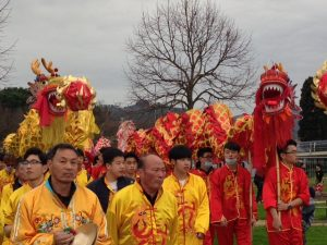 I dragoni alla Pista Rossa