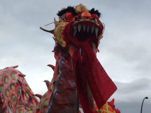 Il dragone alla Pista Rossa