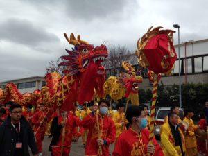 La partenza dei dragoni